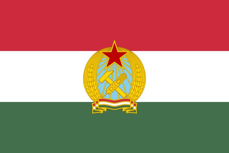 Flag Of Hungary 1949 1956 Flag Of Hungary Wikipedia Hungary Flag Flag Art Historical Flags