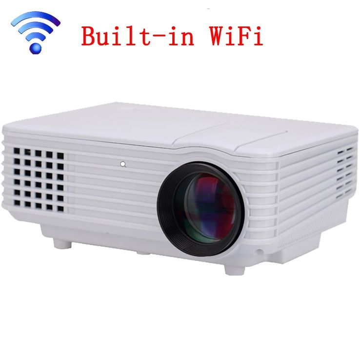 121.27$  Buy here - http://alilr4.worldwells.pw/go.php?t=32666281319 - Best Built-in WiFi 3D Home Theater Projector Mini Portable Support HD 1080P HDMI USB Video LCD 800*480  Beamer Projetor 121.27$