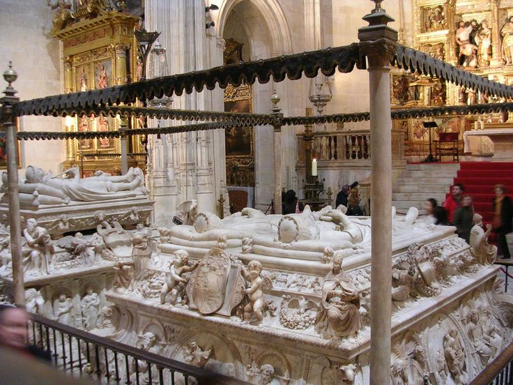 Granada Revisited - Young Adventuress-tomb of Ferdinand and Isabella of Spain