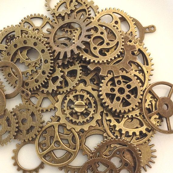 Is Steampunk Jewelry A Craft Or An Art: Best 25+ Steampunk Gears Ideas On Pinterest