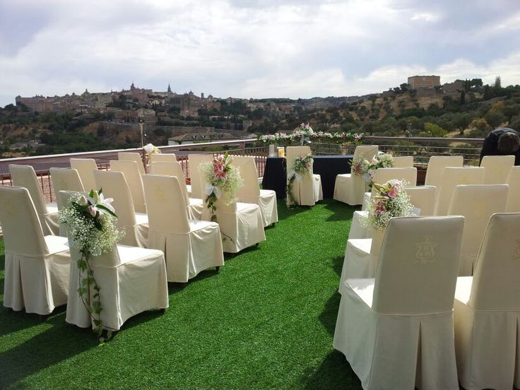 Decoración de boda en El Cigarral El Bosque (Toledo)