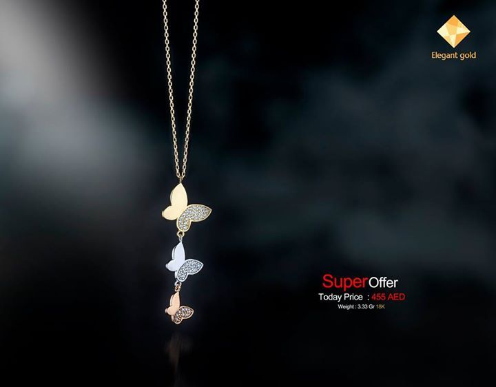 Gold Necklace 18k (New Arrival) code : 12EGZN-500 Weight : 3.33 Gr 18K  Price in Dirham (AED) : Price After Discount 455 AED Plus Delivery charge ---------------------------------------------------- Price in US Dollar ($) : Price After Discount 125 $ Plus Delivery Charge  ---------------------------------------------------- For Orders Call Or what's app Ahmed : +971529588932 Sherif : +971529588924  Gold Price is Daily changeable According to International Gold Price  أسعار الذهب بتتغير يوميا…