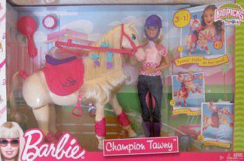 2009 Barbie & Tawney 🐴 - Champion (Gift  🎁 Set) # ?