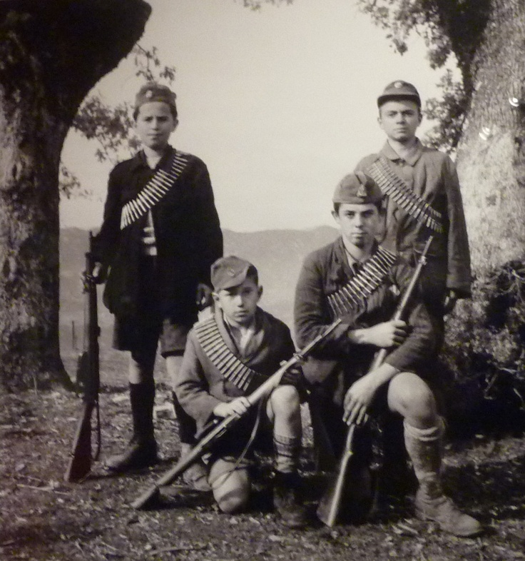 "From the photographic series ""The Resistance in Epirus,1941-1944,"" at the Benaki Museum, Photographer Kostas Balafas (Κώστας Μπαλάφας)"