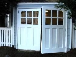Hand-Made Custom Wood Garage Doors and REAL Carriage House Doors by Vintage Garage Door, LLC of Seattle, WA.