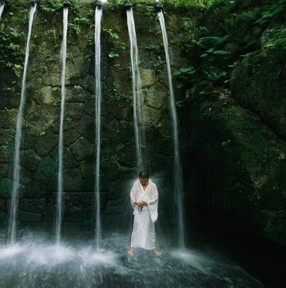 Image result for waterfall mindset buddha