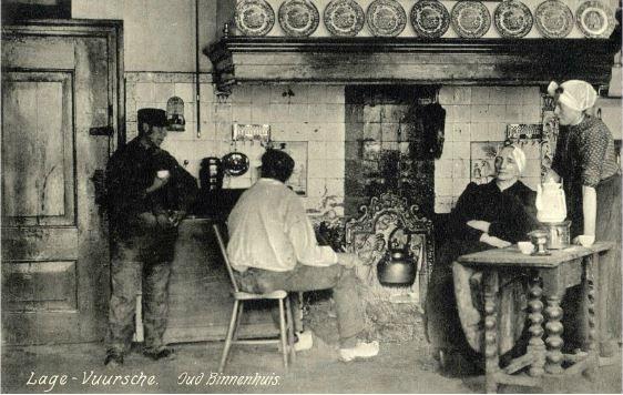 Interieur van het logement van oosterom dorpsstraat 2 te for Interieur 1900