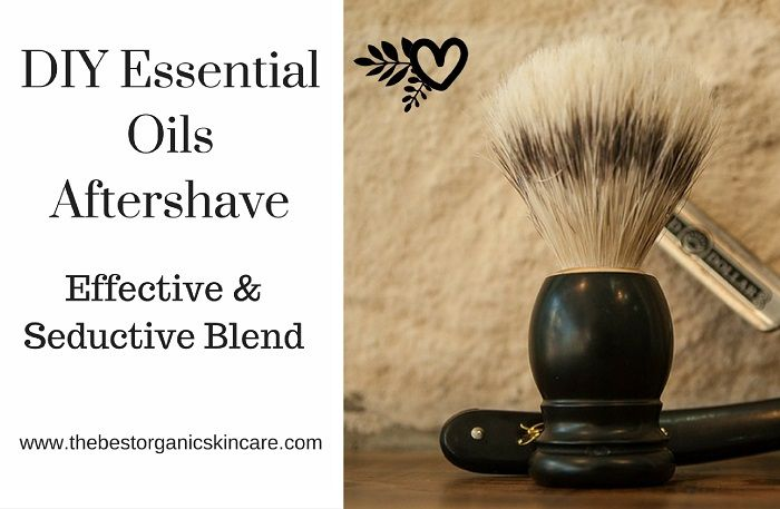 DIY Aftershave with Essentail Oils