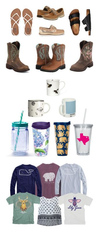 """birthday list"" by fxithers ❤ liked on Polyvore featuring Justin Boots, Ariat, True Timber, Sperry, Billabong, Birkenstock, interior, interiors, interior design and home"