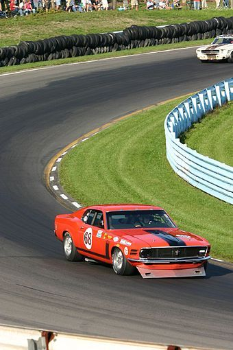 1970 Mustang Boss 302 Race Car The Scca Trans Am Series