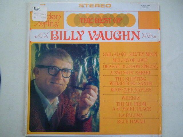 Billy Vaughn The Best Of LP Vinyl Record 1980 Album Jazz MCA Compilation Stereo
