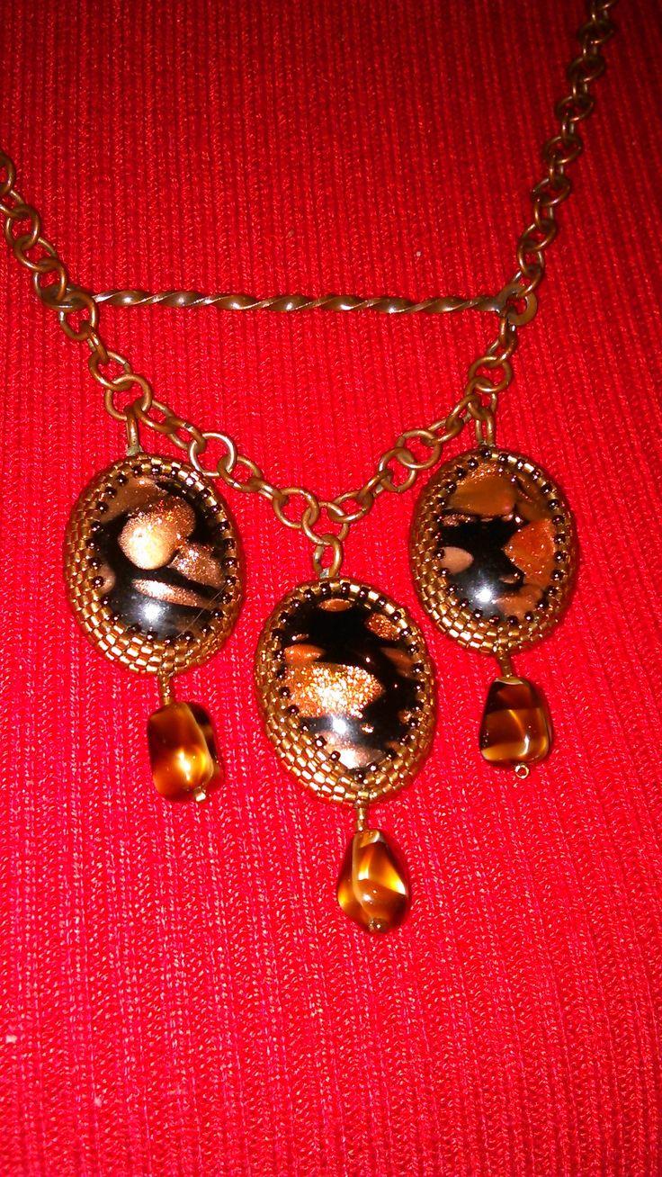 Медное ожерелье