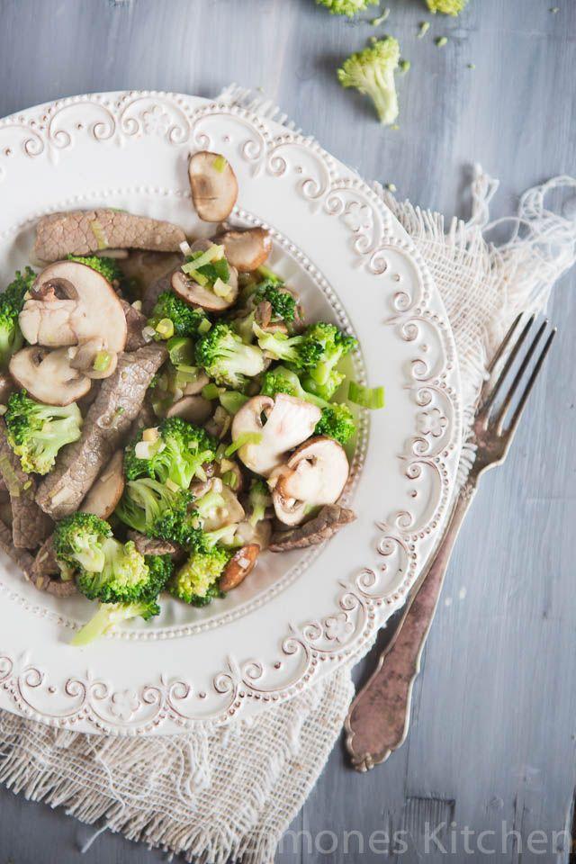 biefreepjes met broccoli. Whole30 recepten | simoneskitchen.nl