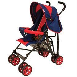Baby Kramer Lüx Yatarlı Hafif Baston Puset Bebek Arabası Kırmızı Kırmızı