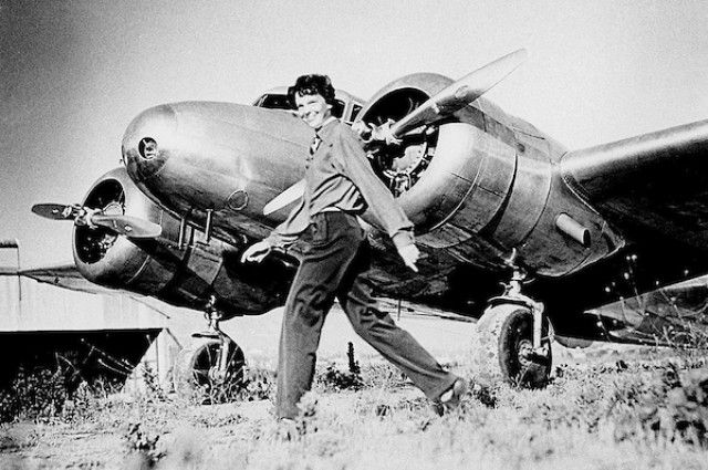 New evidence (the strongest yet) suggests that a piece of aluminum found on a remote island in the South Pacific called Nikumaroro came from Amelia Earhart's plane. Further, a sonar anomaly off the island's west end may be the plane itself. Evidence suggests that Earhart landed safely on the Nikumaroro reef. She then sent distress calls for at least five nights before the tides washed her plane into the ocean, leaving Earhart and her crew member, Fred Noonan, stranded.