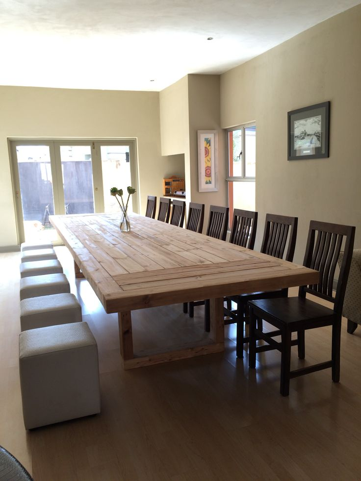 DINING ROOM TABLE - 4.7 METERS
