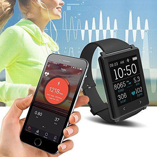 Yuntab 24h Heart Rate Monitor Smartband Z8 Activity Tracker Sleep Quality Monitor Bluetooth Smart Bracelet for IOS/ Android - Black 35.99  #APP #HeartRate #IOS #NotificationsIncoming #Notifications:Incomingcall,Message,QQ,Wechat,Twitter,Facebook,AlarmclockandSedentaryremindconnectwithyoursmartphonetogentlyvibrateanddisplayalerts....