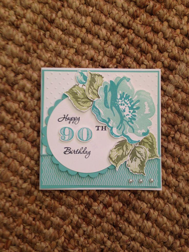 Aunty Freda's birthday card.