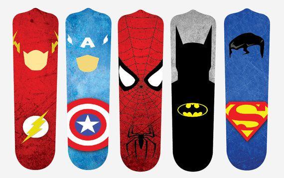 Super Hero Fan Blades by SlingshotCreative on Etsy