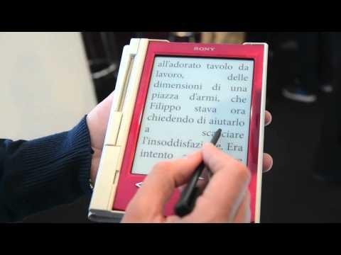 Reader Sony PRS-T2| Più libri, Più liberi 2012