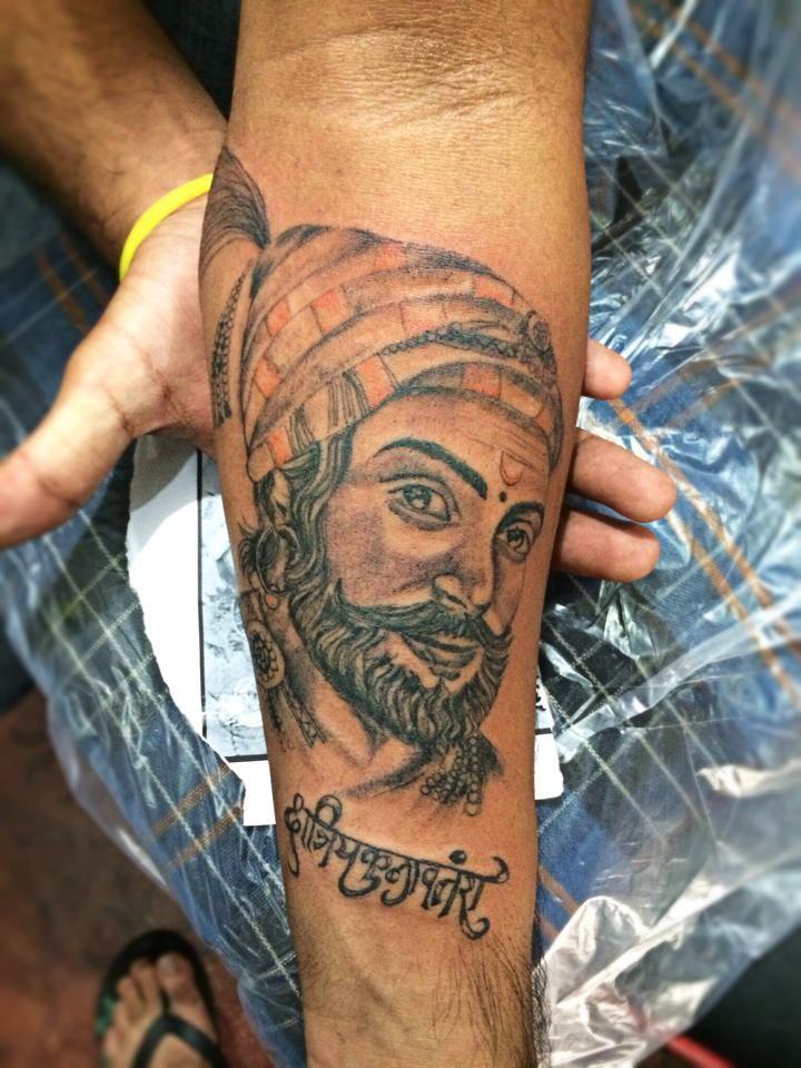 Shivaji Maharaj Tattoo Shivaji Tattoo Maharaj By Pranay
