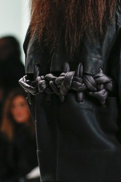///Fall 2013 by Rick Owens.
