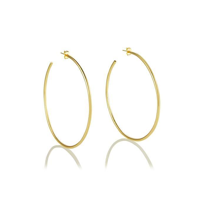 Seychelles Hoop Earrings - 14K Gold