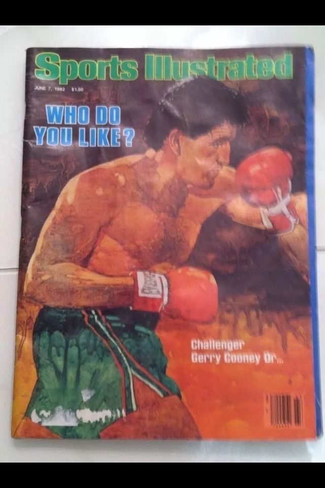 Sports Illustrated Who Do You Like? Gerry Cooney or Larry Holmes June 8, 1982
