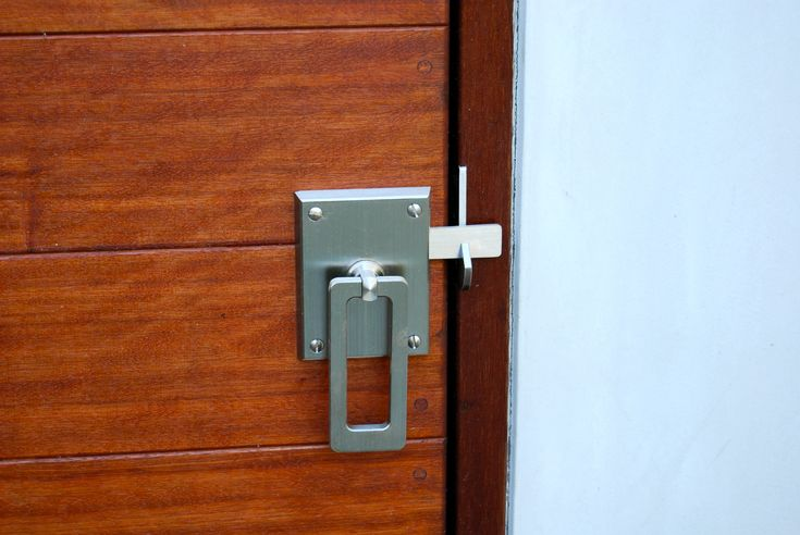 Elise Stainless Steel Contemporary Modern Gate Latch Ring Latch Modern Door Hardware Gate Handles Barn Door Handles
