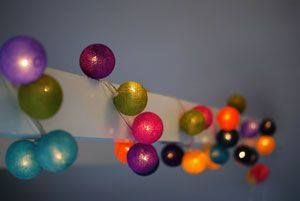 Fairy Lights in Customisable Colour Combinations.
