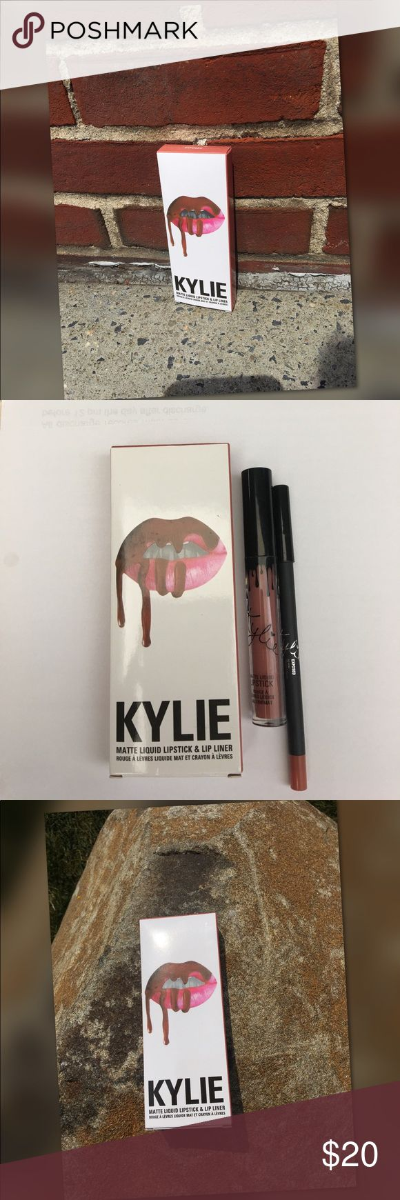 KYLIE MATTE LIPSTICK AND LINER New in box Kylie Cosmetics Makeup
