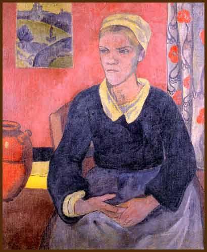 Paul Sérusier — Louise ou la servante bretonne (1890)