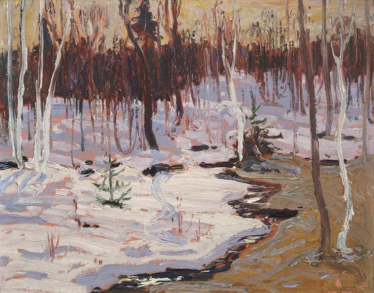 Tom Thomson Catalogue Raisonné | Spring Woods, Spring 1916 (1916.15) | Catalogue entry