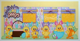 349 Best Easter Scrapbook Layouts Images On Pinterest