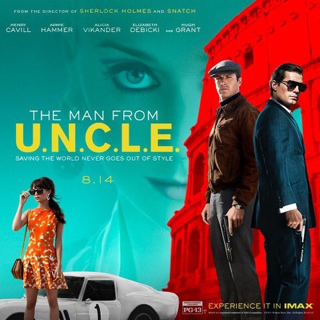 guyritchie https://instagram.com/guyritchie/ For my beloved followers! You've seen it here first, the final poster for The Man From U.N.C.L.E the trailer debuts tomorrow. Saving the world has never looked so good