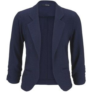 maurices Blue Jasmine Blazer With Textured Fabric