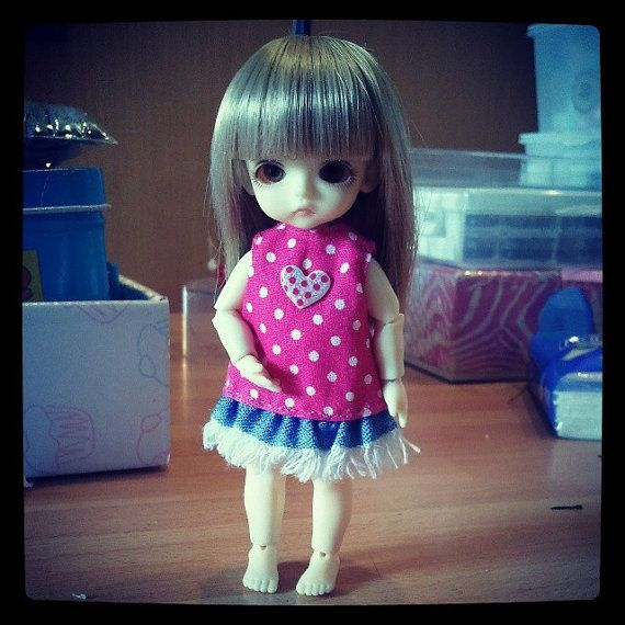 Handmade clothes for Lati White  Sp / Puki puki. OOAK di Style4Bjd, €8.00