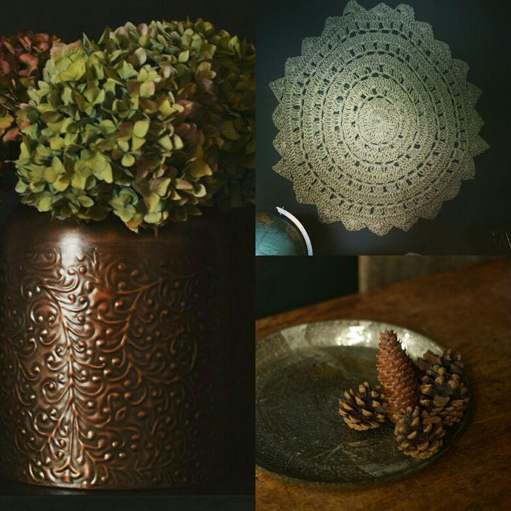Autumn stock now in , all cosy and warm #autumstock #bronze #juterugs #mercuryglass