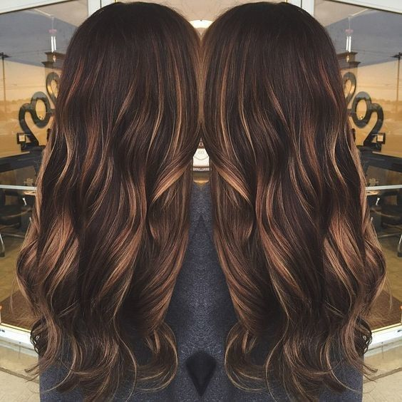 Warm Caramel Tones - Low Maintenance Hair Color Ideas For Lazy Girls - Photos