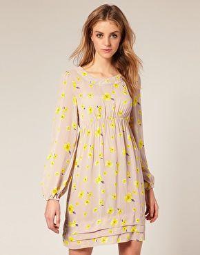 OASIS floral print dress $43 beautiful dress.