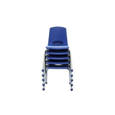 Plastic, stackable, child-size chairs will be used throughout the classroom and around the wooden tables. These chairs are easy to clean and can be stacked up for end of day clean-up.