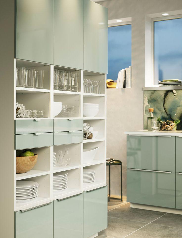 ikea küche kallarp grün   ikea küchen: die schönsten ideen