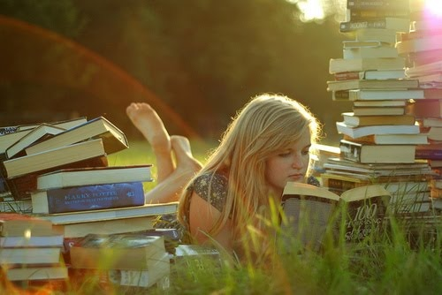 I need some new books to sit in the middle of no were with......and turn the page