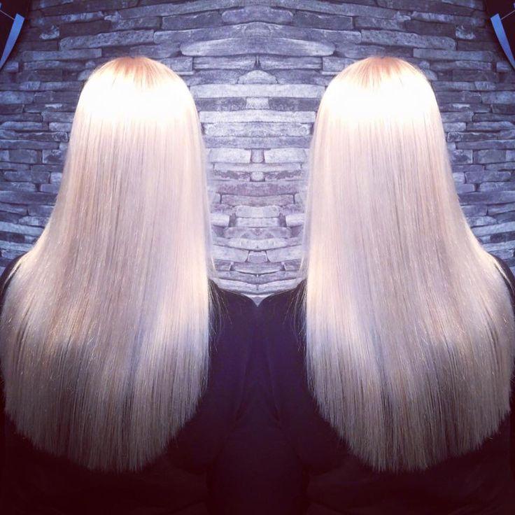 Super blondi ja hopean sekoitus!