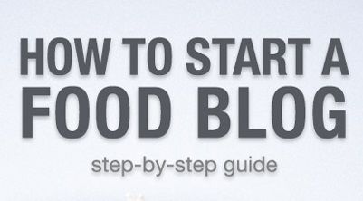 How to create a food blog. Find tips here.