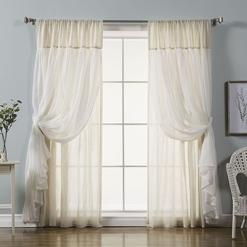 Best 25 Layered Curtains Ideas On Pinterest Window