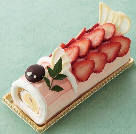 【2013】大阪新阪急ホテルで「こいのぼりロール」販売 おもたせにもピッタリ