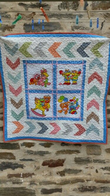 Baby Muppet quilt