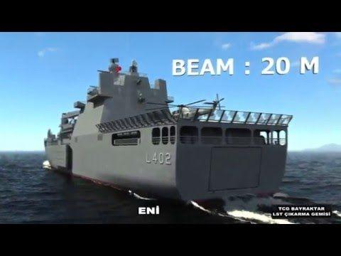 Ana görev fonksiyonu amfibi harekat ve ateş desteği olan Amfibi Gemi (LST), yüksek ateş gücüne sahip ve sahile kapak atma kabiliyeti olan büyük bir gemidir. ...
