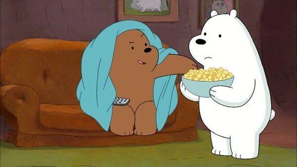 الدببة الثلاثة Bare Bears Anime Wallpaper